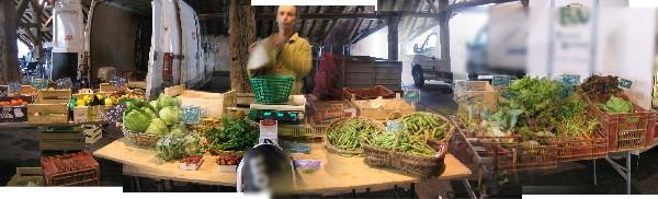 au marché de Clisson (44) en juin 2015